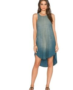 Michael Stars Tank Dress In Vintage Wash Size M